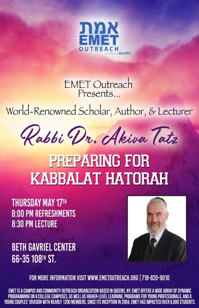 Rabbi Tatz Shavuot 2018 11x17-min