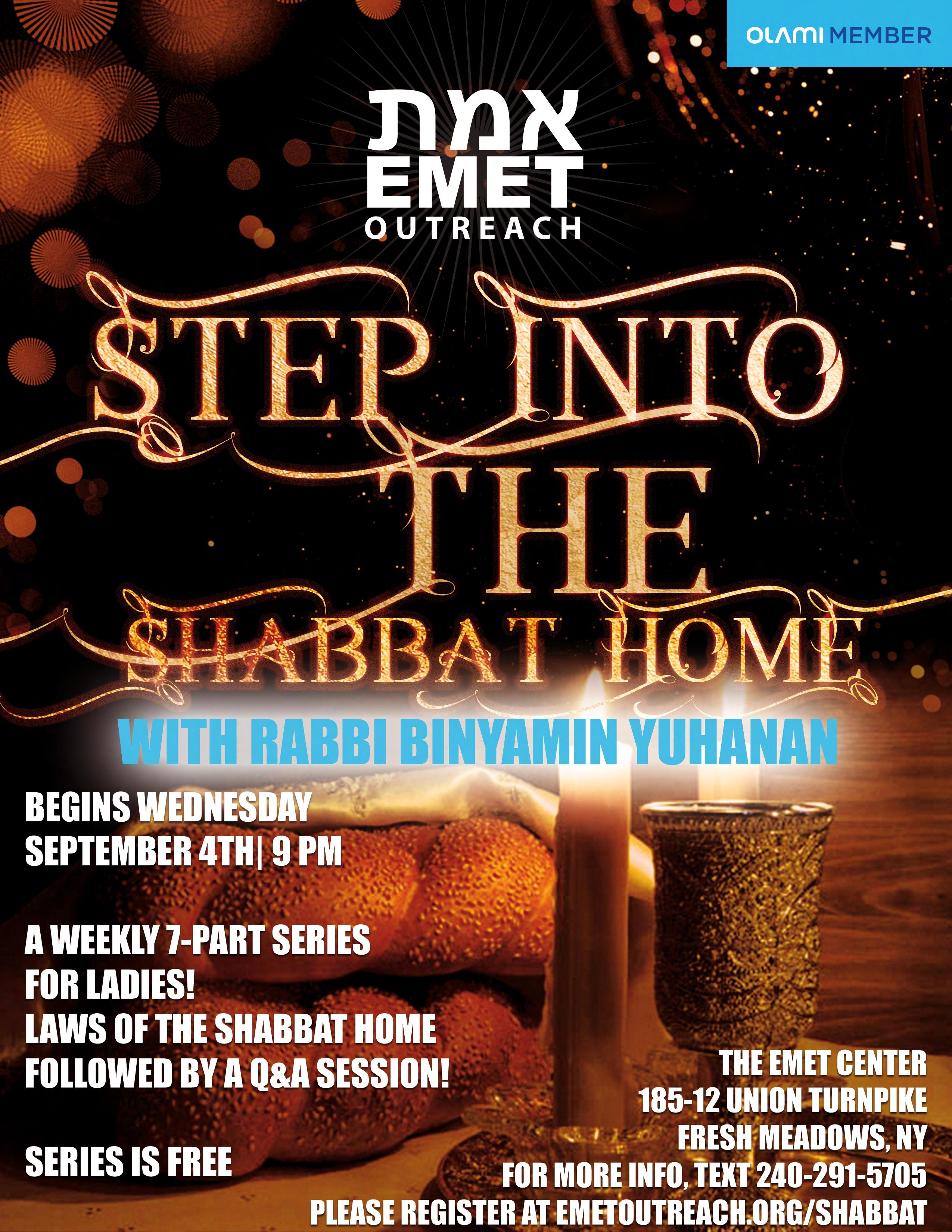 R Yuhanan Step Into The Shabbat Kitchen!v4