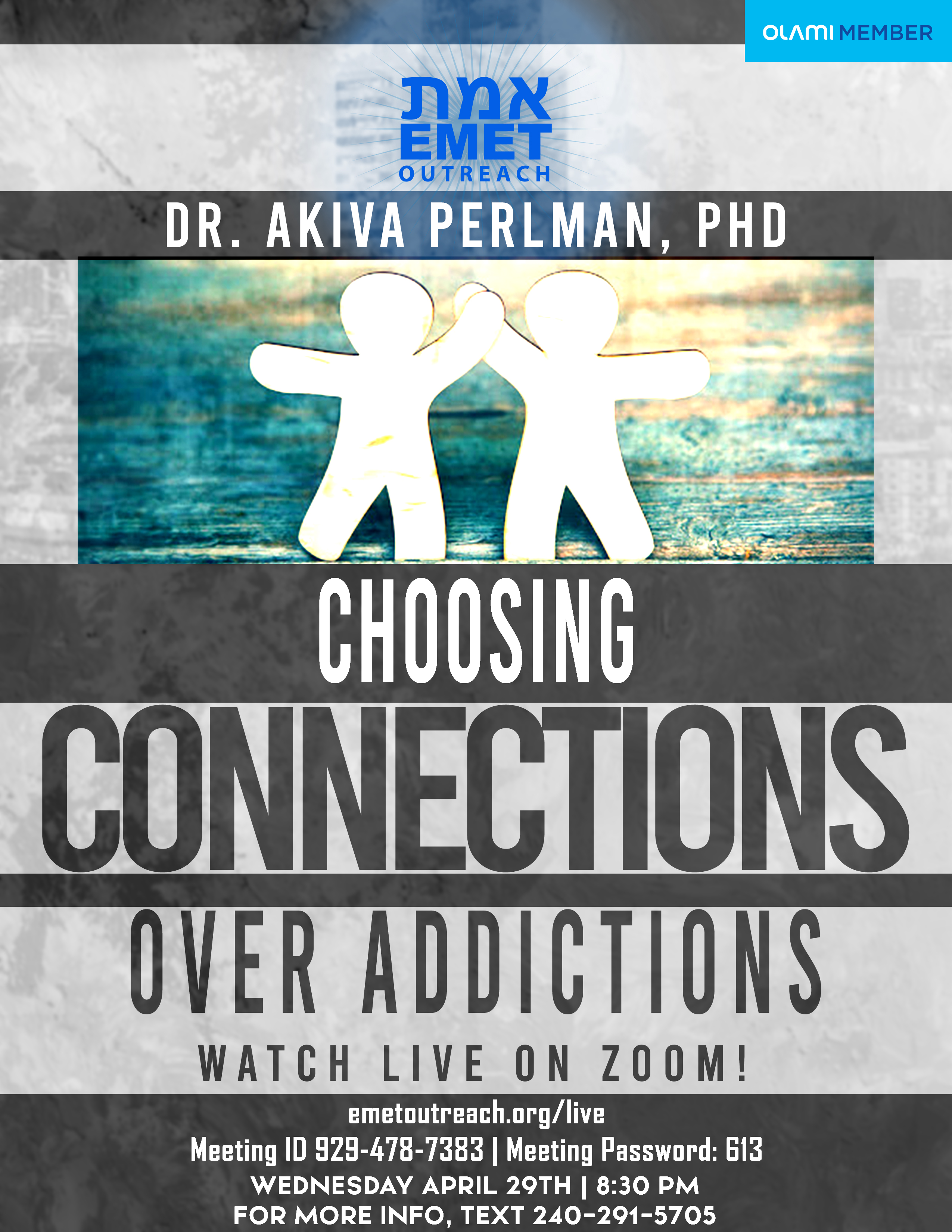 Dr. Perlman Connections Over Addiction 2020 v2