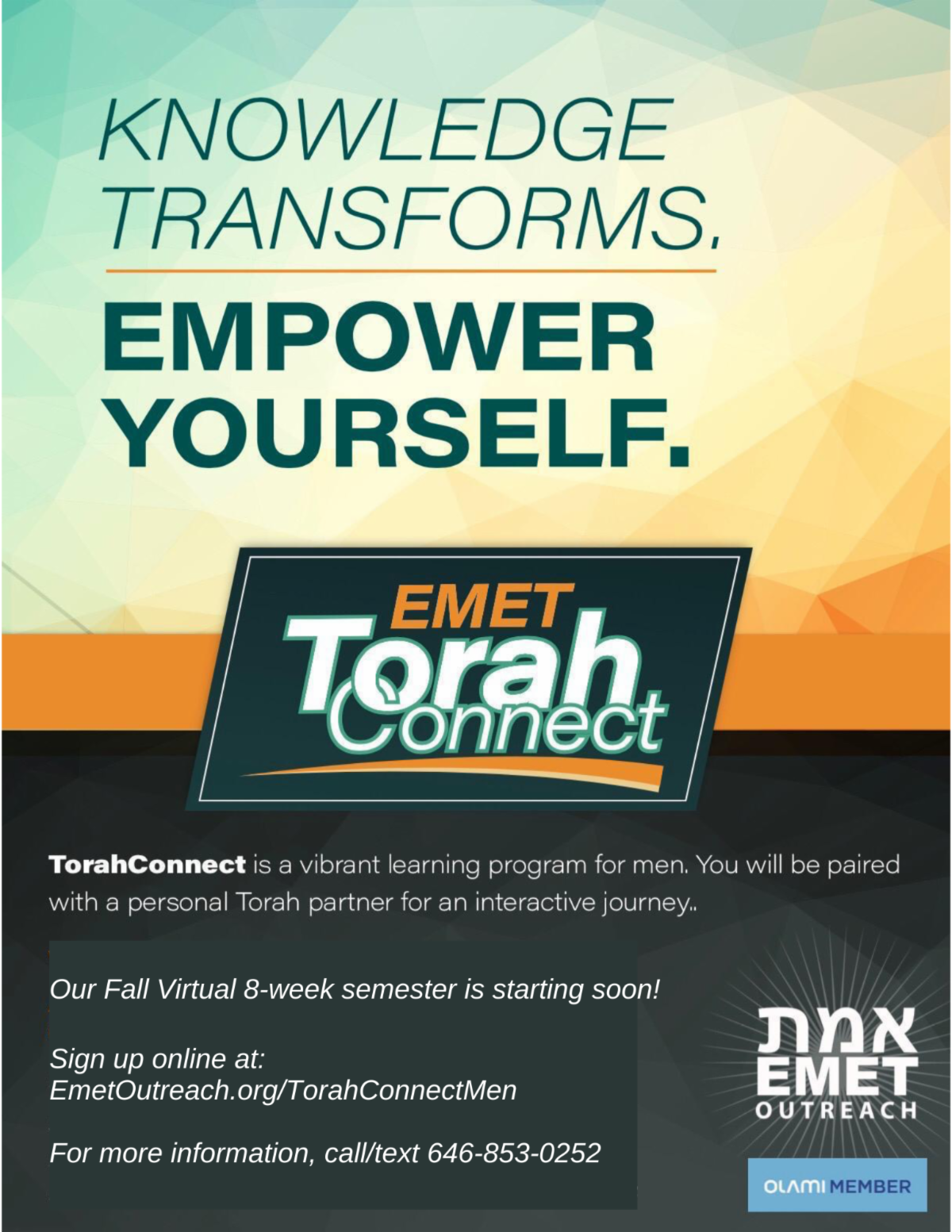 TorahConnect flyer men updated