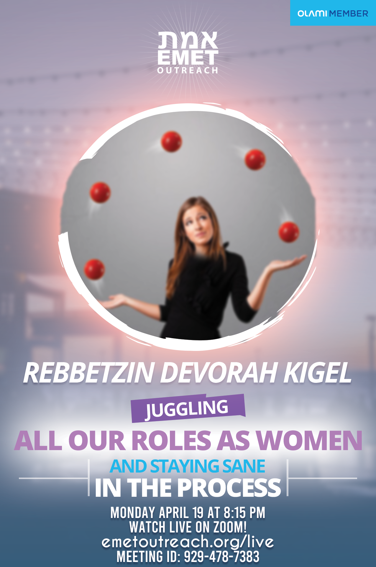 Reb Kigel Juggling Our Roles As Women 2021
